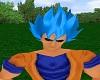 Goku God Hair Blue