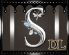silver letter S
