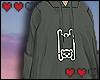 Ella bear hoodie khaki