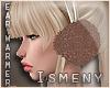 [Is] Fur Ear Warmer Nude