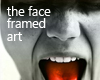 the face art frame