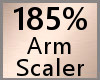185% Arm Scaler F A