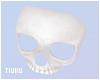 T! Skull Mask - White