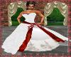 Crystal wedding dress