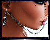Lip Bullet Ear Chain F