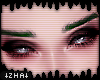 |Z| Green Rebel Eyebrows