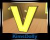 *KD* Bee Room Letter V