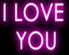 e I love you   Neon