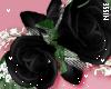 n  Corsage Black