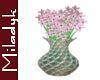 MLK Aire Pink Flowers Va
