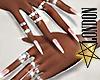 Manicure & Diamond Rings