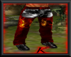 (K) Kit Chaps Red/Black