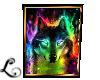 xo*Special Framed Wolf