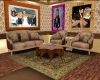 Country couch set