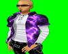 [AR]Purple Lightning Top