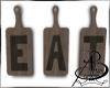 {AB} Eat Sign
