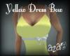 aza~ yellow dress 2 bow