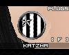 .K StrypyStar Plugs |F