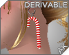 ~AK~ Candy Cane Earrings