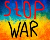 STOP WAR(UA) light eff.