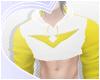 Yellow Paladin Crop-Hood