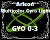 Multicolor Gyro Light