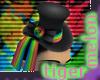 .tM. Rainbow Lolita Hat
