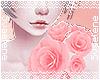 Pink Shoulder Roses L