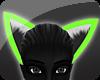 {s} Neon Green Ears