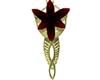 Red Ruby Evenstar Pendan