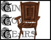 TTT Carved Wood Chair