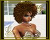 Curly Afro Cinnamen