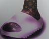 slides w/ loui socks