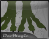 *dm* Dragon Feet Green