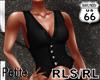 SD RL Petite Black Vest