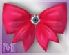 AM:: Eye Hair Bow Pink
