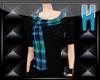 ~H~Sweater wTartanScarf