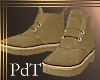PdT Casual Tan Boots M
