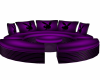 purple playboy couch
