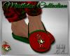 Mistletoe Slippers
