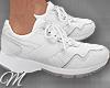 m: White Sport Shoes M
