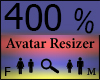 Any Avatar Size,400%