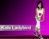 (M) Kids Ladybird Green2
