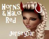 Halo & Horns Red