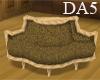 (A) Wood Tudor Sofa