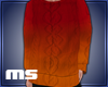 MS Male Sweater Orange