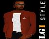 LG1 Brown Coat W/shirt