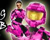[GB] Halo Hottie Pink