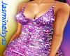 Purple Pink Sparkle Dres