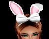 Ma's wht n pink buny ear